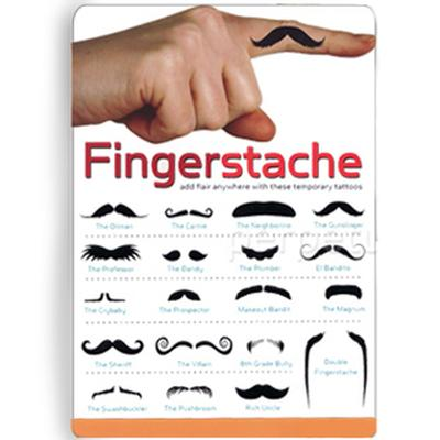 Click to get Fingerstache Temporary Mustaches