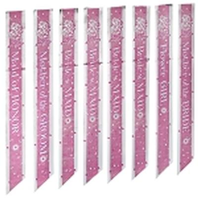 Click to get Bridal Shower Sash Set 8 pieces