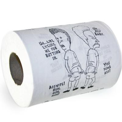 Click to get Beavis and Butthead Toilet Paper