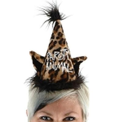 Click to get Party Animal Hat Leopard