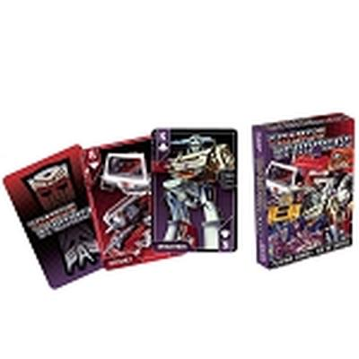 Click to get Transformers Cast Playing Cards