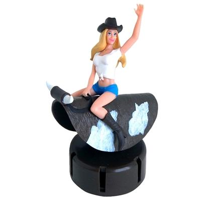 Click to get Dashboard Cowgirl Bull Rider
