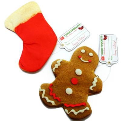 Click to get Christmas Cookies with Secret Pockets