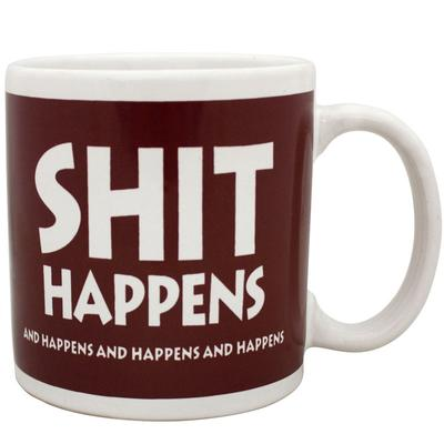 Click to get Shit Happens Giant Mug