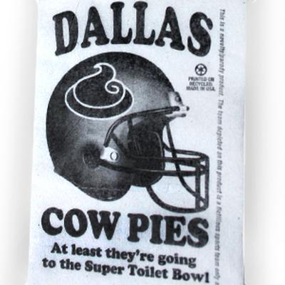 Click to get Dallas Cow Pies Toilet Paper