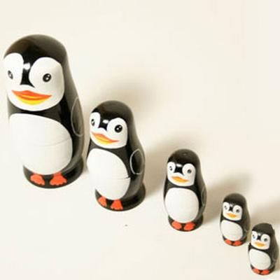 Click to get Penguin Nesting Dolls