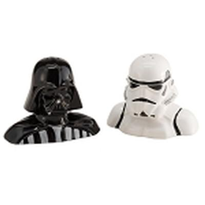 Click to get Star Wars Darth Vader and Stormtrooper Salt and Pepper Shakers