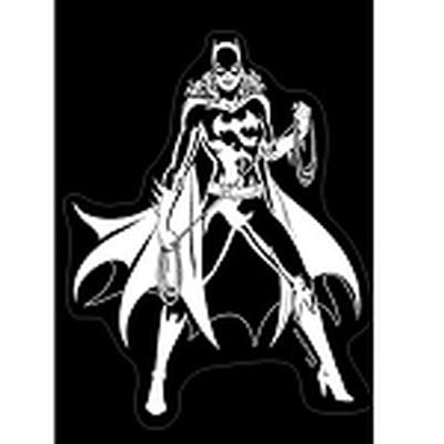 Click to get Batgirl Vinyl Car Decal