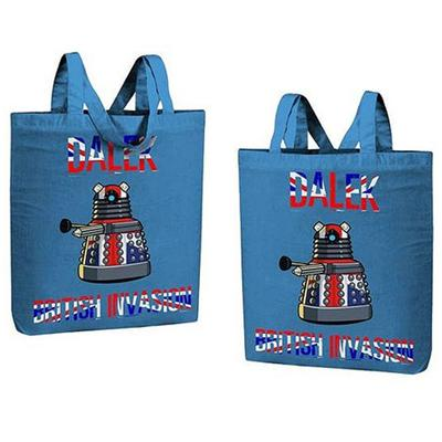 Click to get British Invasion Dalek Tote Bag