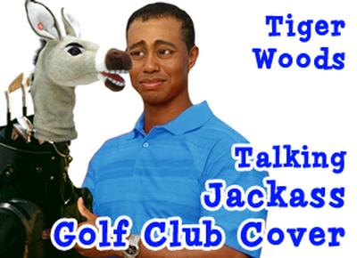 Click to get Talking Jackass Club Head Cover  460cc