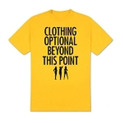 Click to get Clothing Optional TShirt Yellow