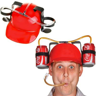 Click to get Drinking Helmet Red