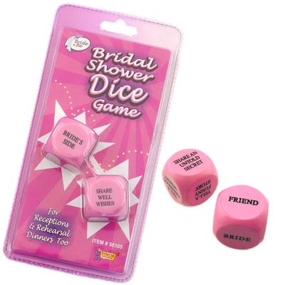 Click to get Bridal Shower Dice