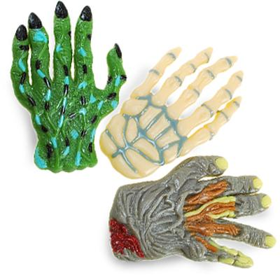 Click to get Grave Grabbers Gummy Hands 3 pack