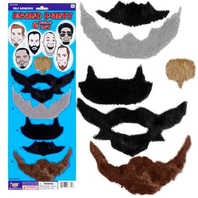 Click to get Beard Party  6 Beard Pack