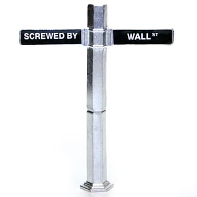 Click to get Screwed by Wall Street Corkscrew