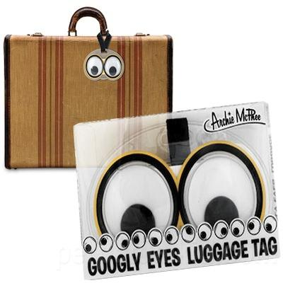 Click to get Googly Eyes Luggage Tag