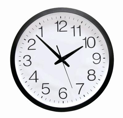 Click to get Deluxe Backwards Clock