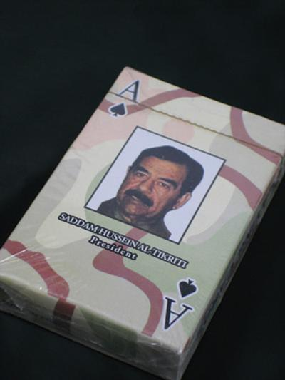 Click to get Saddam Hussein Playing Cards