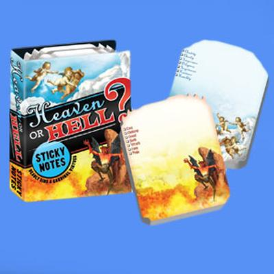 Click to get Heaven or Hell Sticky Notes