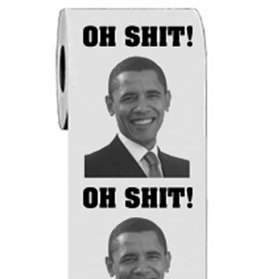 Click to get Obama Toilet Paper
