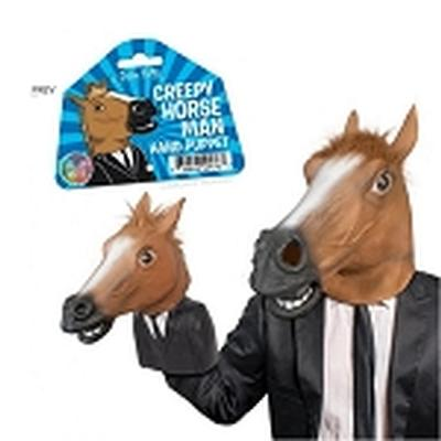 Click to get Creepy Horse Man Hand Puppet