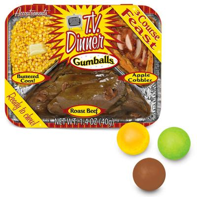 Click to get TV Dinner Gumballs