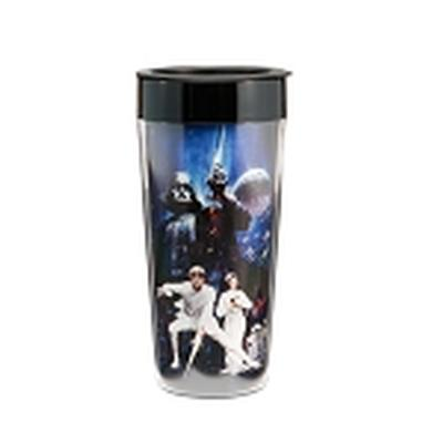 Click to get Star Wars 16 oz Plastic Travel Mug