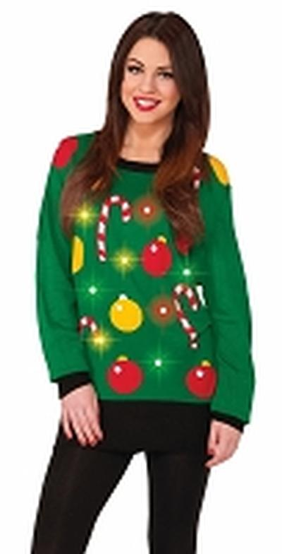 Click to get Tis The Season Light Up Ugly Xmas Sweater