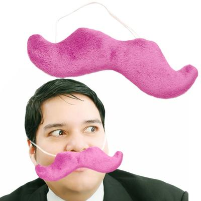 Click to get Plush Pink Mustache