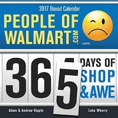 Click to get 2017 People of Walmart Boxed Calendar