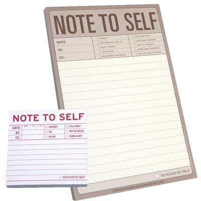 Click to get Large Note to Self Note Pad