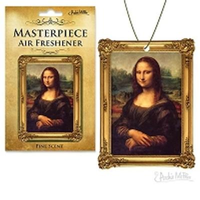 Click to get Mona Lisa Masterpeice Air Freshener