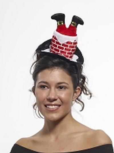 Click to get Santa in Chimney Headband