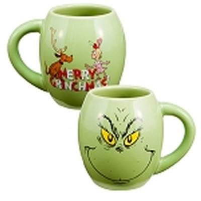 Click to get The Grinch 18oz Oval Holiday Mug