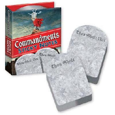 Click to get Commandments Sticky Notes