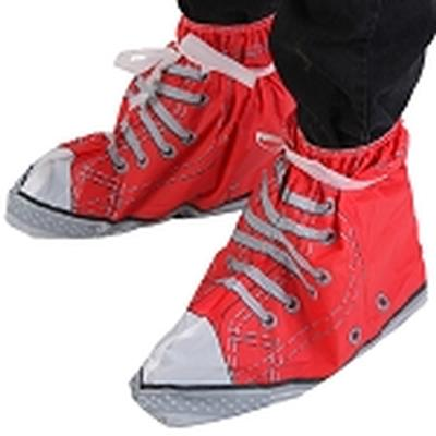 Click to get Festival Feet  Sneaker Shoe Covers Red