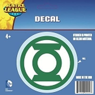Click to get Green Lantern Logo Car Decal Green and White Only