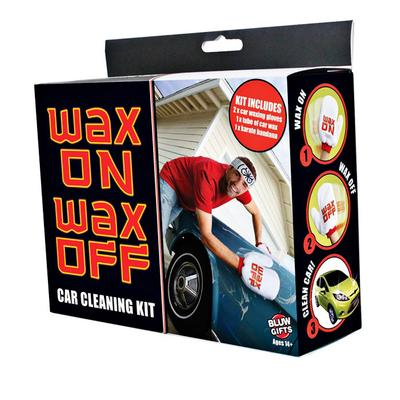 Click to get Wax On Wax Off Car Cleaning Kit