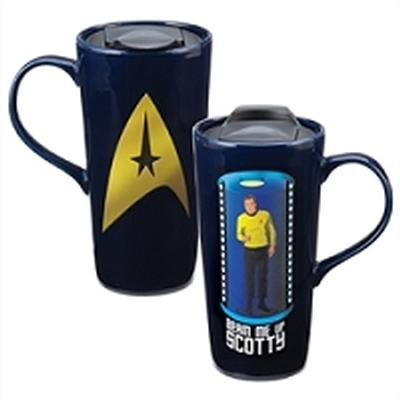 Click to get Star Trek Beam Me Up Scotty Heat Reactive Travel Mug