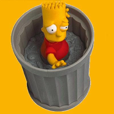 Click to get Simpsons WindUps 2  Bart  Blinky