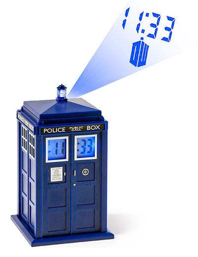 Click to get Doctor Who TARDIS Projection Alarm Clock