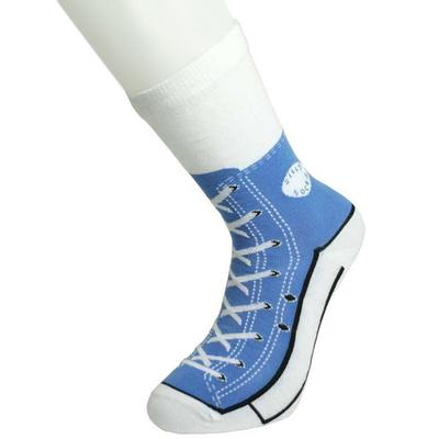 Click to get Sneaker Socks Blue