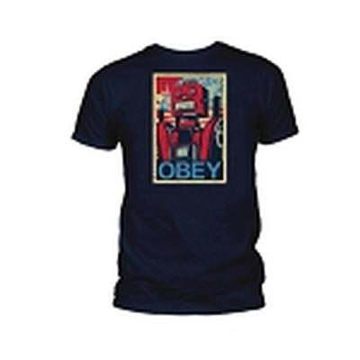 Click to get Robotwear  Obey TShirt Navy Blue