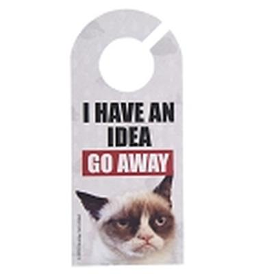 Click to get Grumpy Cat Door Hanger I Have An Idea