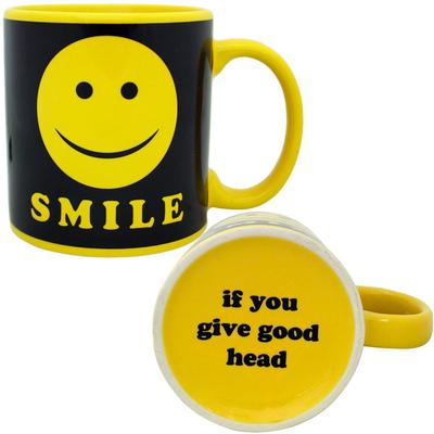 Click to get Giant Smile Mug  Smile If You Give Good Head
