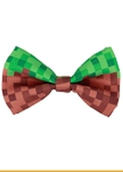 Click to get Pixel Bricks Bow Tie GRNBRN