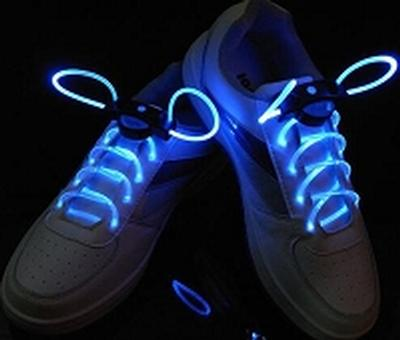 Click to get Blue Light Up Flashing Shoelaces