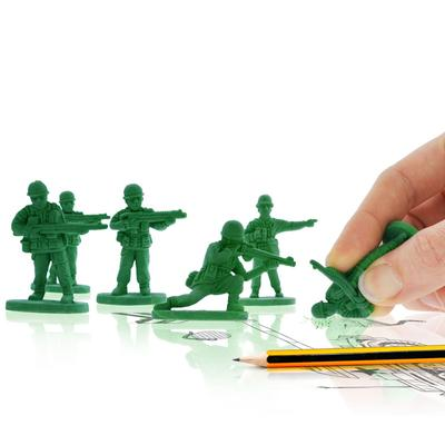 Click to get Army Men Erasers 6 pack