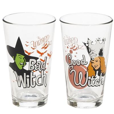 Click to get Wizard of Oz Good Witch and Bad Witch Glass Set
